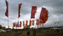 Glastonbury Flags
